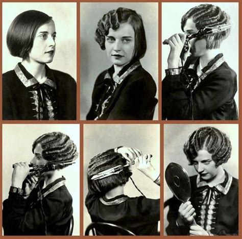 how to do 1920 hairstyles the marcel wave hair tutorial 1920 s 1920s pinterest