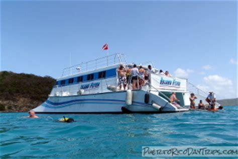 catamaran excursion in puerto rico culebra culebrita snorkel trip with east island