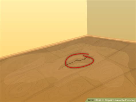 replacing a small section of carpet 3 ways to repair laminate flooring wikihow