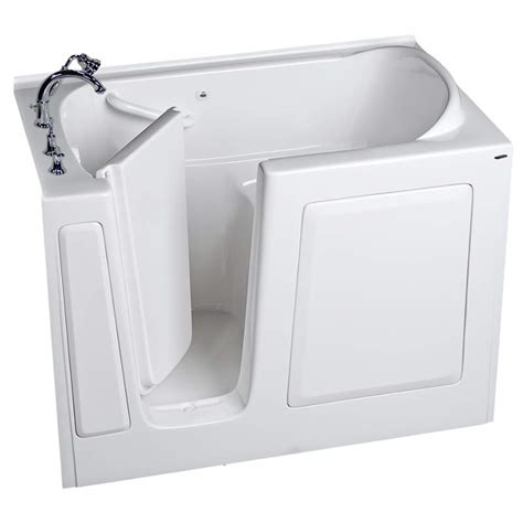 51 inch bathtub american standard 3151 509 value 51 x 31 inch acrylic walk
