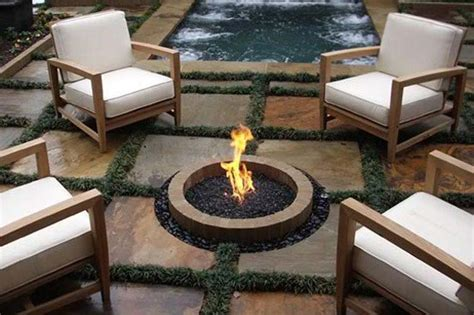year  ground fire pit party fire pit