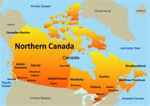 map of canada and northern us northern canada resorts holidays in canada beautiful