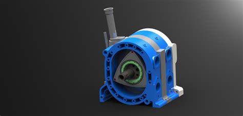 tutorial solidworks engine rotary engine solidworks 3d cad model grabcad