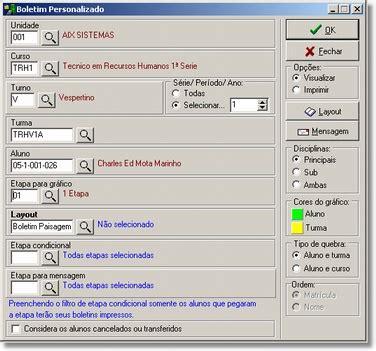 layout tela de login php boletim wiki aix
