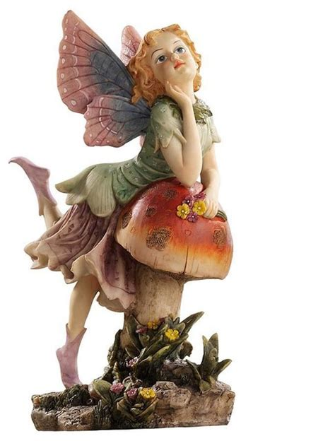 classy pixie garden fairy sculpture traditional garden