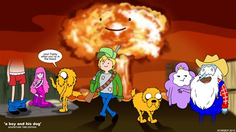a and his boy finn and jake a boy and his by atariboy2600 on deviantart