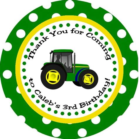 free printable john deere thank you cards tractor buy 2 get 1 free thank you tags diy printable