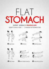 home workouts for best 25 flat stomach workouts ideas on