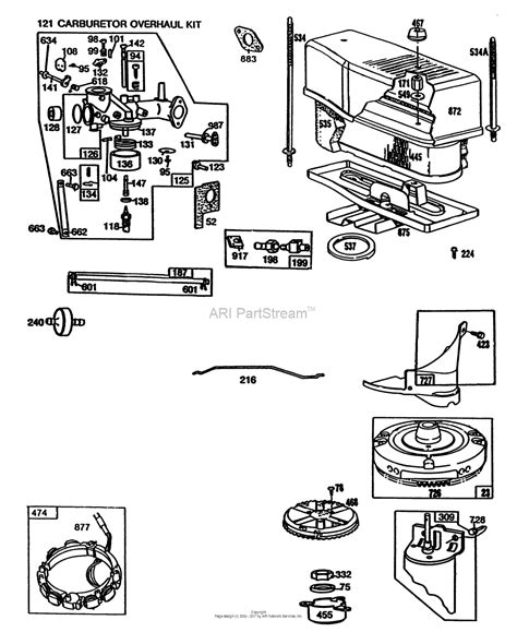 briggs and stratton engine parts diagram 141 briggs stratton engine diagram parts auto parts