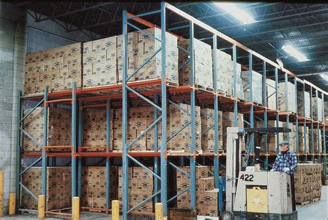 Drive In Drive Through Racking System by Drive In Drive Through Storage Systems To Maximize Space