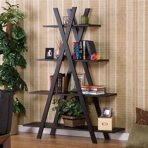 living room display shelves modern 4 shelf bookcase bookshelf display shelves home office living room bedroom get fancy