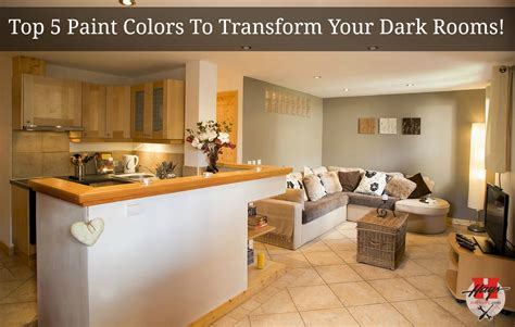 best colors for dark rooms top 5 paint colors to transform your dark rooms