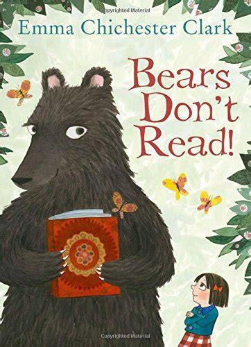 libro bears don t read di emma chichester clark