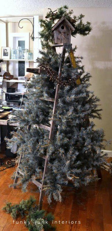 making   stepladder christmas treefunky junk interiors
