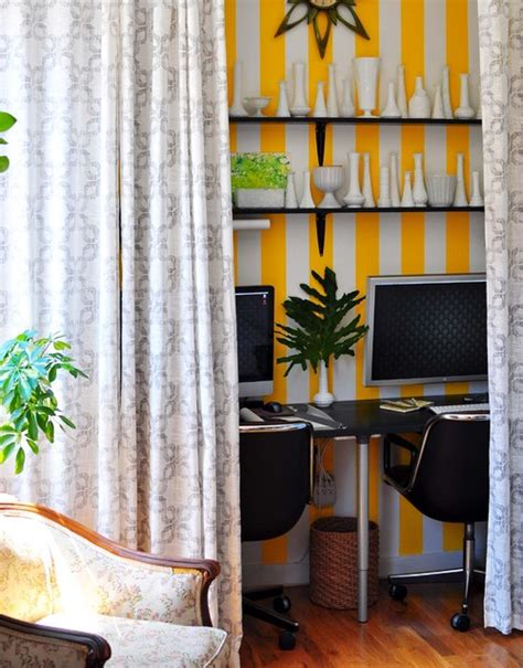 office curtains ideas 23 formas ingeniosas de transformar un armario que no