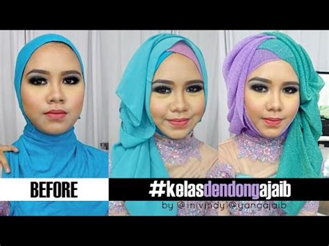 tutorial hijab pengantin ala inivindy video tutorial hijab wisuda ala inivindy tutorial sanggul