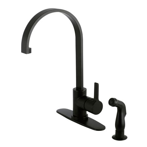 8 kitchen faucet gourmetier ls8710ctlsp continental 8 inch centerset single