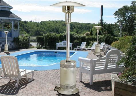 Patio Comfort Heater Patio Comfort Stainless Steel Infrared Propane Heater Pc02ss