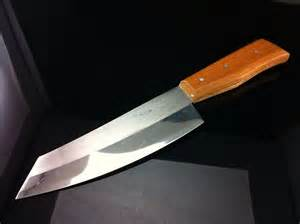 Homemade Kitchen Knives Vintagethai Big Knife Kitchen Stainless Steel From