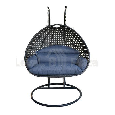 Egg Patio Furniture Outdoor Furniture Egg Shaped Hanging Chairs Hammock For 2 Person Garden Indoor Ebay