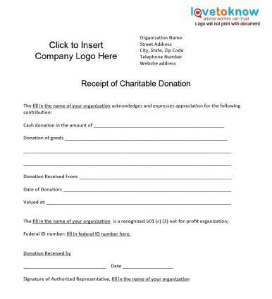 Charity Gift Receipt Template by Charitable Donation Receipt Tip Ticks
