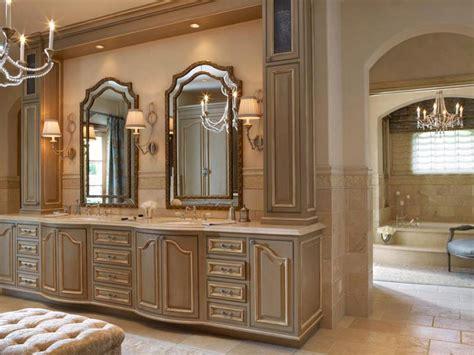 shabby chic bathroom vanity brings feel of comfortability