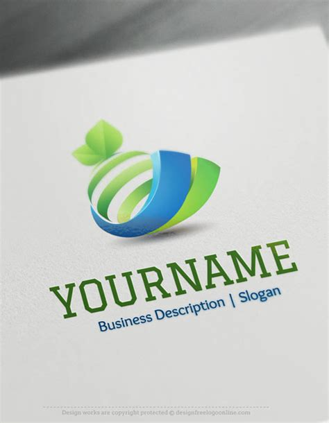 3d logos free logo maker on behance