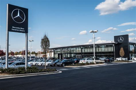 mercedes dealer hendrick motors of autos post