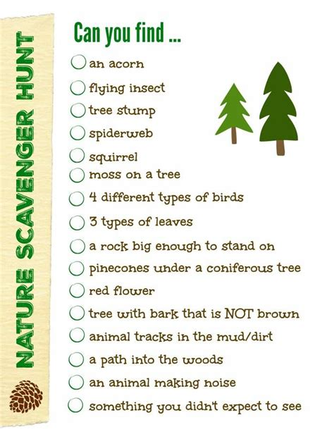 backyard scavenger hunt list 25 best ideas about nature scavenger hunts on pinterest