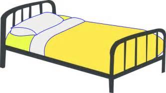 single bed clip at clker vector clip