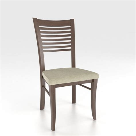 Custom Dining Chairs Upholstered Canadel Custom Dining Customizable Ladderback Upholstered Side Chair Darvin Furniture Dining