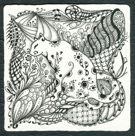 zentangle pattern drawing as meditation zentangle zentangle pens and zen on pinterest