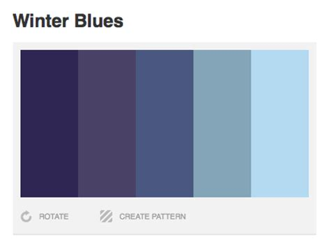 winter color schemes inspiration winter color palettes 2010 design