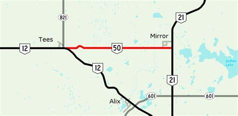 map us highway 50 alberta highway 50