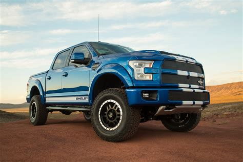 Ford Shelby Truck Shelby Brings The Blue Thunder To Sema With 700hp F 150 Truck