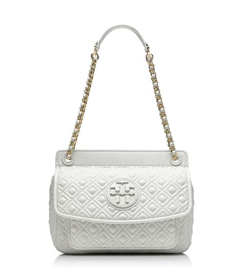 Burch Quilted Handbag by Burch Marion Quilted Small Shoulder Bag In White Lyst