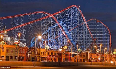 theme park near manchester blackpool pleasure beach voted uk s best theme park