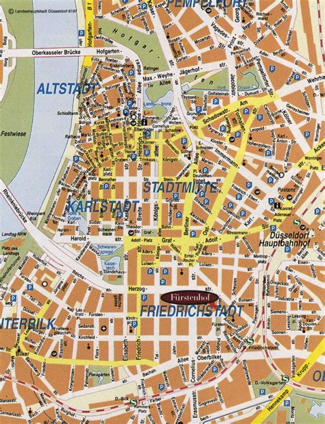 dusseldorf map large dusseldorf maps for free and print high