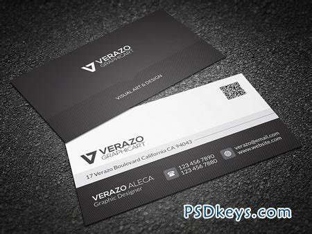 creative white business card template psd black white business card 41793 187 free