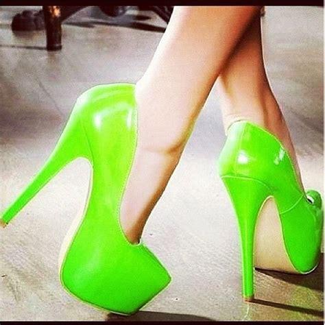 green high heels bright green high heels herstyle shoe wardrobe
