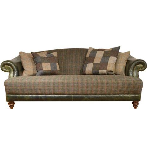 tweed settee tetrad taransay midi harris tweed sofa at smiths the rink