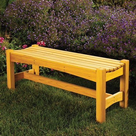 garden bench plans pdf garden bench woodworking plan from wood magazine