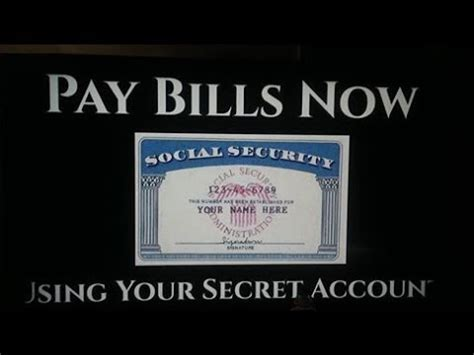 Search Using Social Security Number I Paid My Bills Using My Social Security Number