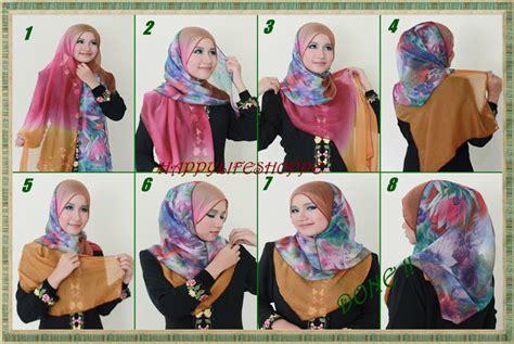 tutorial pashmina tutup dada tomatofanda happy life shoppe siapa kata pakai shawl