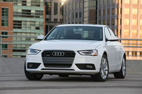 Audi A4 2013 2013 audi a4 reviews and rating motortrend