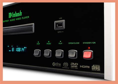 format audio normal mcintosh mvp901 lecteur universel tout format audio video