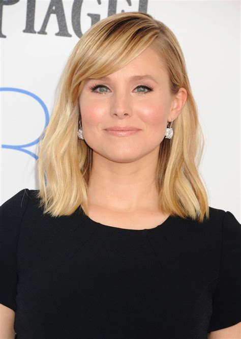 kristen bell bangs 2016 43 best images about good hair day on pinterest chelsea