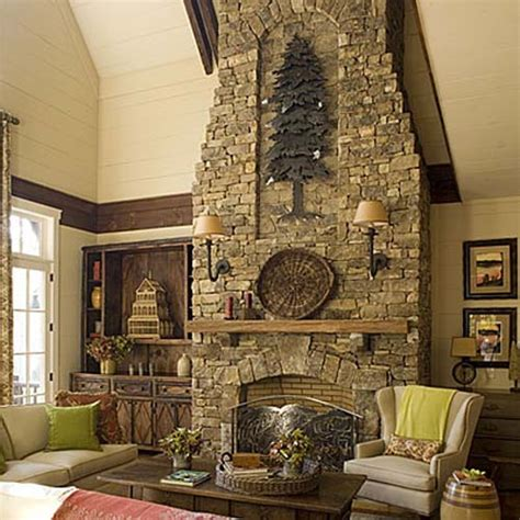 stone fireplace decor how to decorate a rustic fireplace mantel 5 guides for