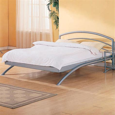 curved platform bed modernmist limited robbinsville contemporary metal platform bed with curved