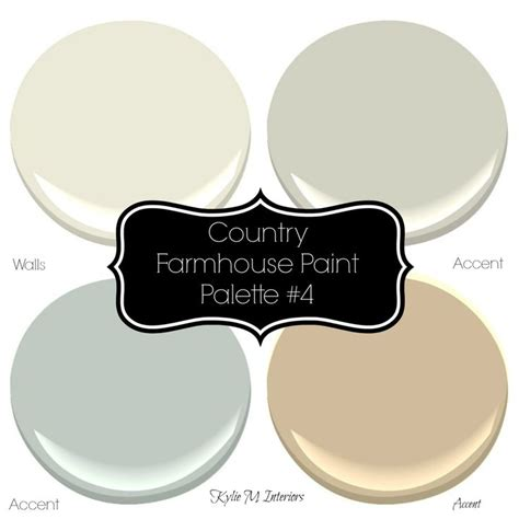 1000 ideas about farmhouse paint colors on paint color palettes paint colors and
